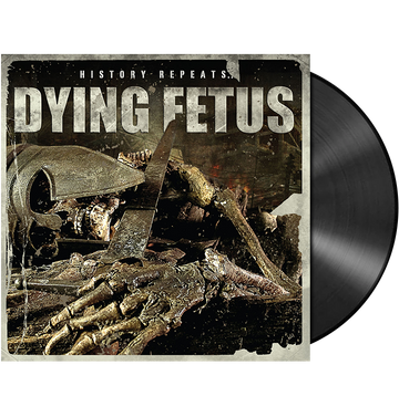 DYING FETUS - 'History Repeats' LP