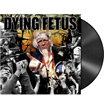 DYING FETUS - 'Destroy The Opposition' LP