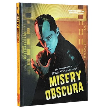 EERIE VON 'The Misery Obscura' Book