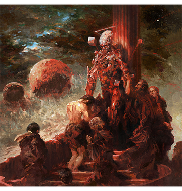 ELIRAN KANTOR - 'Hell Will Come For Us All' Art Print