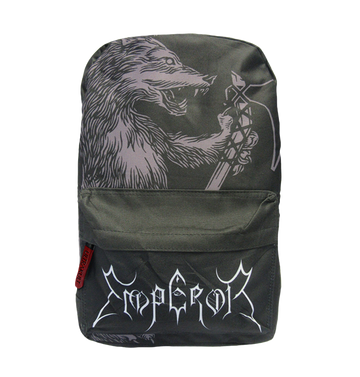 EMPEROR - 'Wolf Logo' Backpack