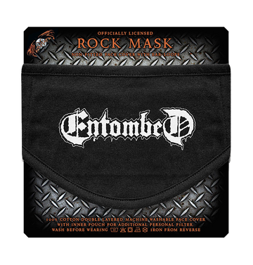 ENTOMBED - 'Logo' Face Mask