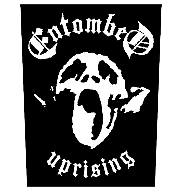 ENTOMBED - 'Uprising' Back Patch