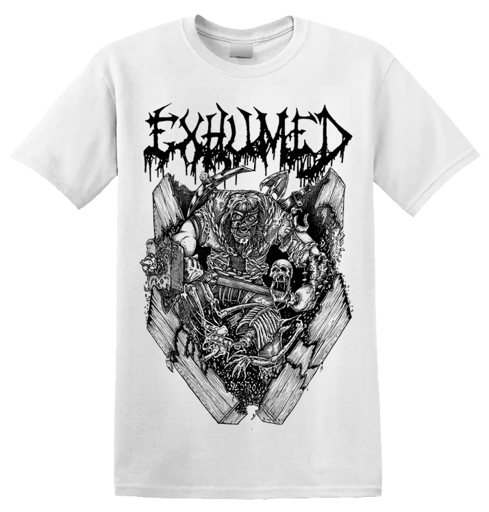 EXHUMED - 'Casket Crusher' T-Shirt