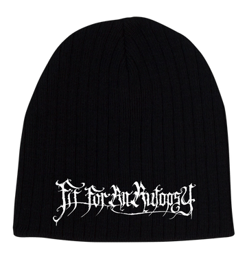 FIT FOR AN AUTOPSY - 'Logo' Skull Cap Beanie