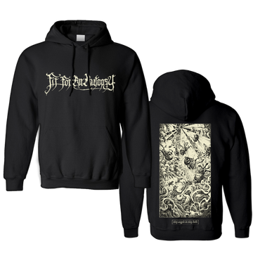 FIT FOR AN AUTOPSY - 'Tiny Angels In Tiny Hells' Pullover Hoodie