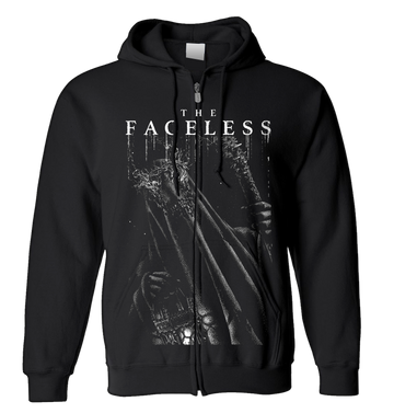 THE FACELESS - 'Witch' Zip-Up Hoodie