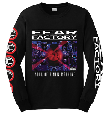 FEAR FACTORY - 'Soul Of A New Machine' Long Sleeve