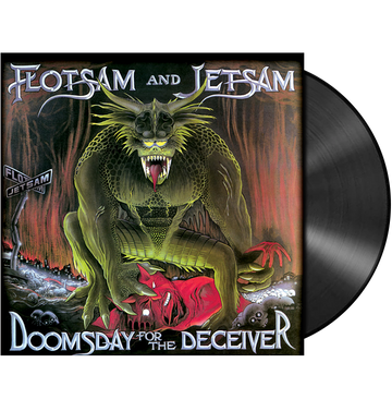 FLOTSAM AND JETSAM - 'Doomsday For The Deceiver' LP