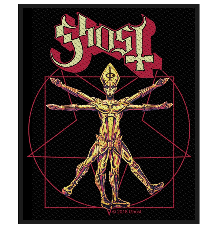 GHOST - 'The Vitruvian Ghost' Patch