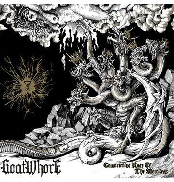 GOATWHORE - 'Constricting Rage Of The Merciless' DigiCD