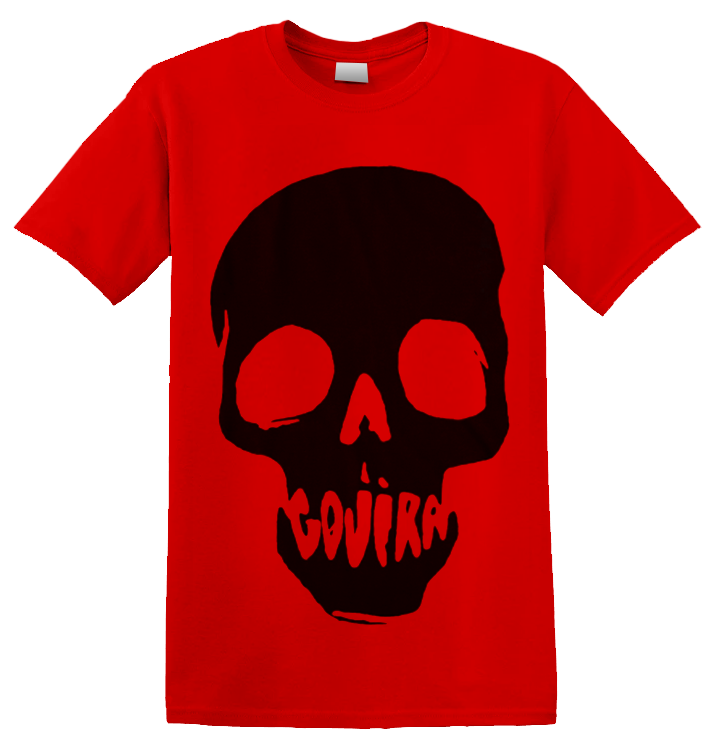 GOJIRA - 'Skull Mouth' Red T-Shirt