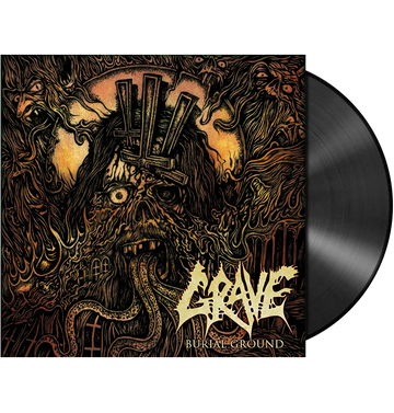 GRAVE - 'Burial Ground' LP