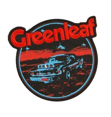 GREENLEAF - 'Desert Car' Patch