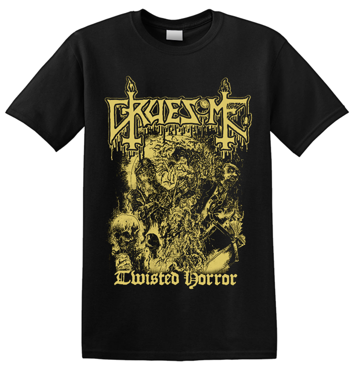 GRUESOME - 'Twisted Horror' T-Shirt