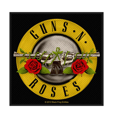 GUNS N' ROSES - 'Bullet Logo' Patch