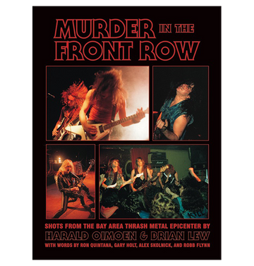 HARALD & BRIAN OIMOEN - 'Murder In The Front Row' Book