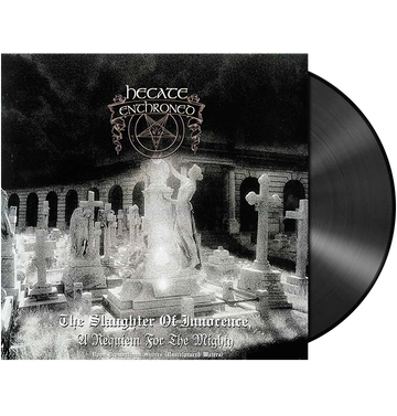 HECATE ENTHRONED - 'Slaughter of Innocence + Upon Promeathean' 2xLP