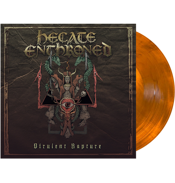 HECATE ENTHRONED - 'Virulent Rapture' LP