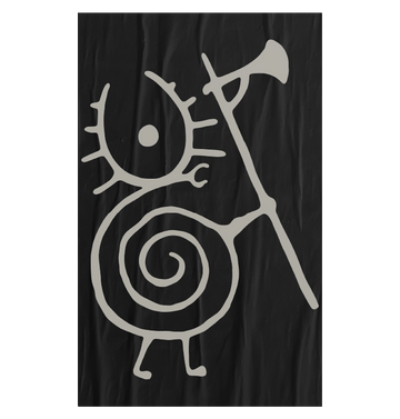 HEILUNG - 'Warrior Snail' Flag
