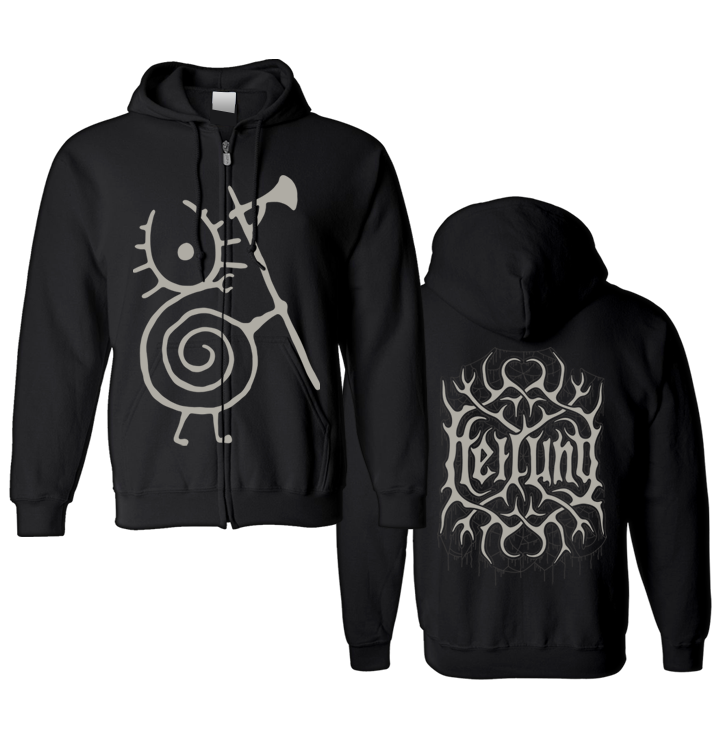HEILUNG - 'Warrior Snail' Zip-Up Hoodie