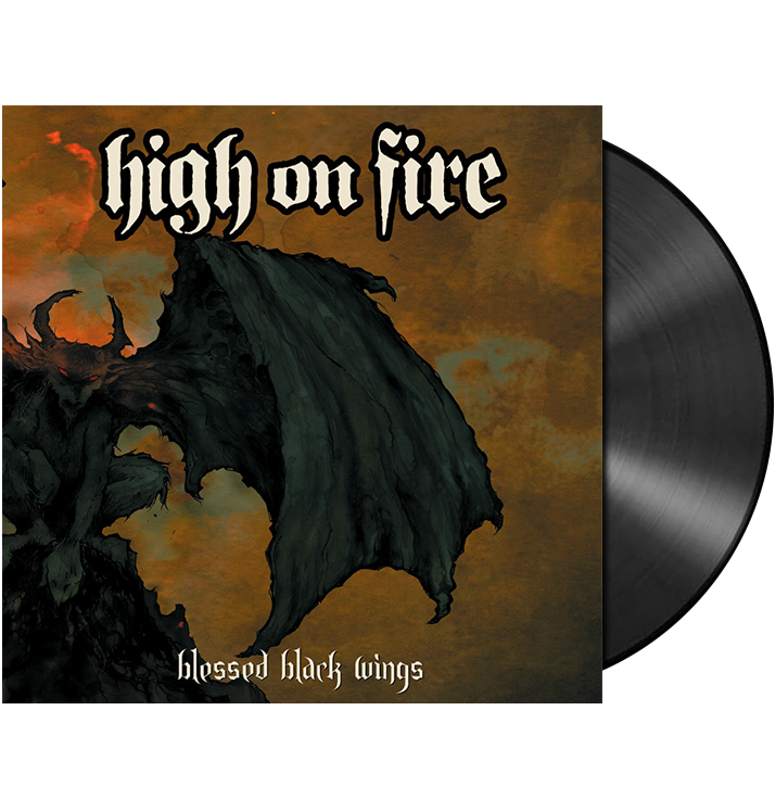 HIGH ON FIRE - 'Blessed Black Wings' 2xLP