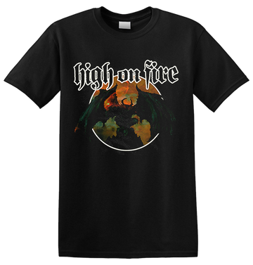 HIGH ON FIRE - 'Blessed Black Wings' T-Shirt