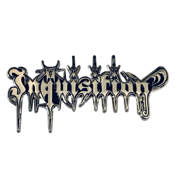 INQUISITION - 'Logo' Metal Pin