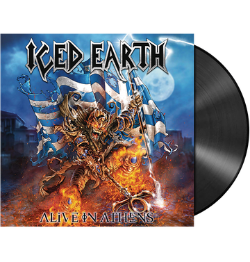 ICED EARTH - 'Alive In Athens' 5LP Box Set