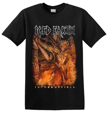 ICED EARTH - 'Incorruptible' T-Shirt