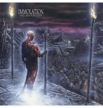IMMOLATION - 'Failures for Gods' CD