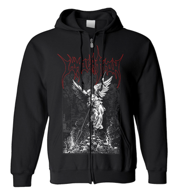 IMMOLATION - 'Destroying Angel' Zip-Up Hoodie