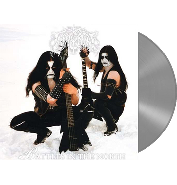 IMMORTAL - 'Battles In The North' LP (Silver)