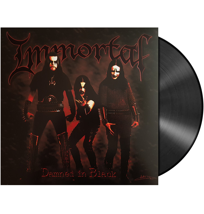 IMMORTAL - 'Damned In Black' LP