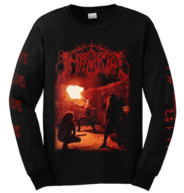 IMMORTAL - 'Diabolical Fullmoon Mysticism' Long Sleeve