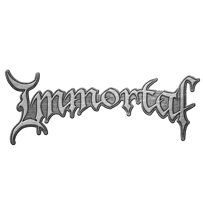 IMMORTAL - 'Logo' Metal Pin
