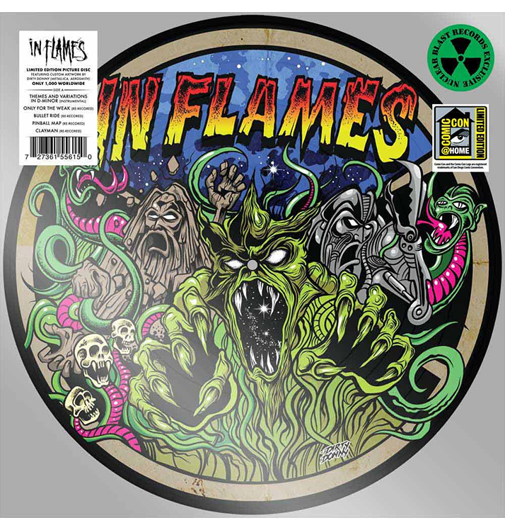 IN FLAMES - 'Clayman' LP Picture Disc
