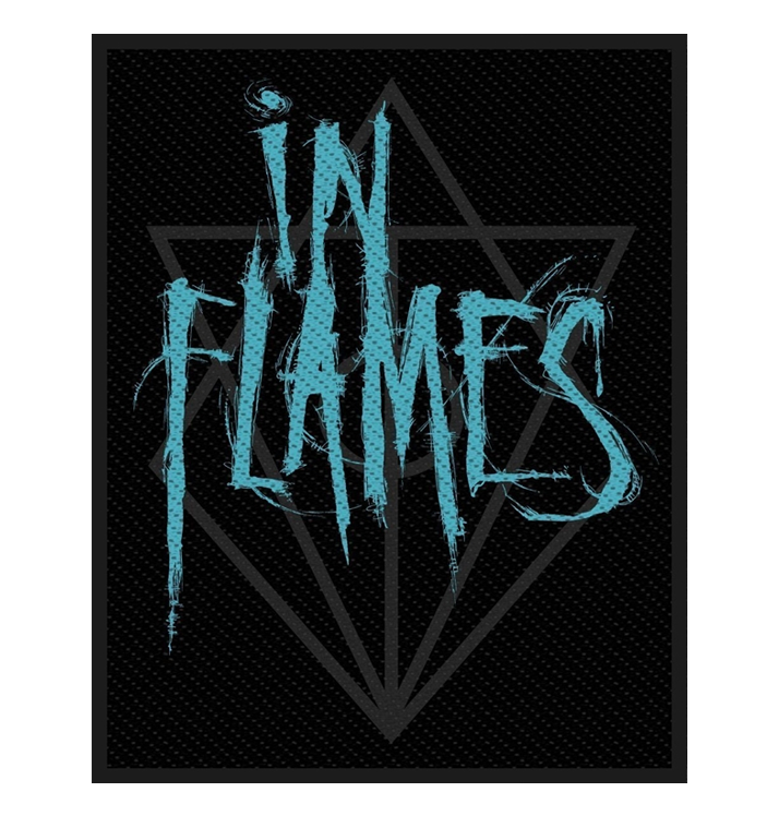 IN FLAMES - 'Scratched Logo' Patch