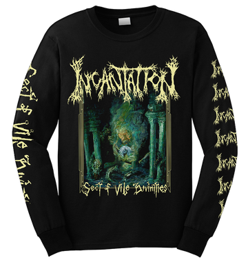 INCANTATION - 'Sect Of Vile Divinities' Long Sleeve
