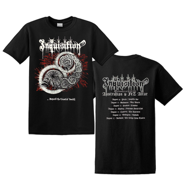 INQUISITION - 'Beyond The Celestial Zenith' T-Shirt