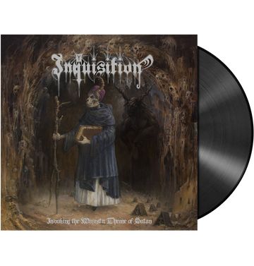 INQUISITION - 'Invoking The Majestic Throne Of Satan' 2xLP