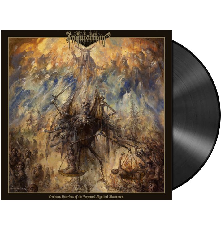 INQUISITION - 'Ominous Doctrines Of The Perpetual Mystical Macrocosm' 2xLP