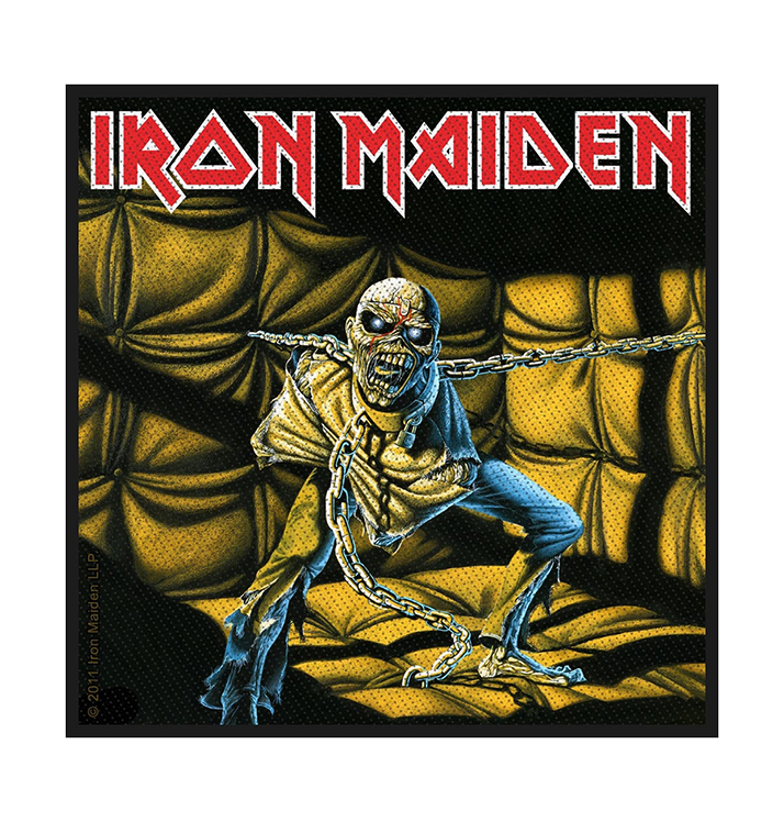 IRON MAIDEN - 'Piece Of Mind' Patch