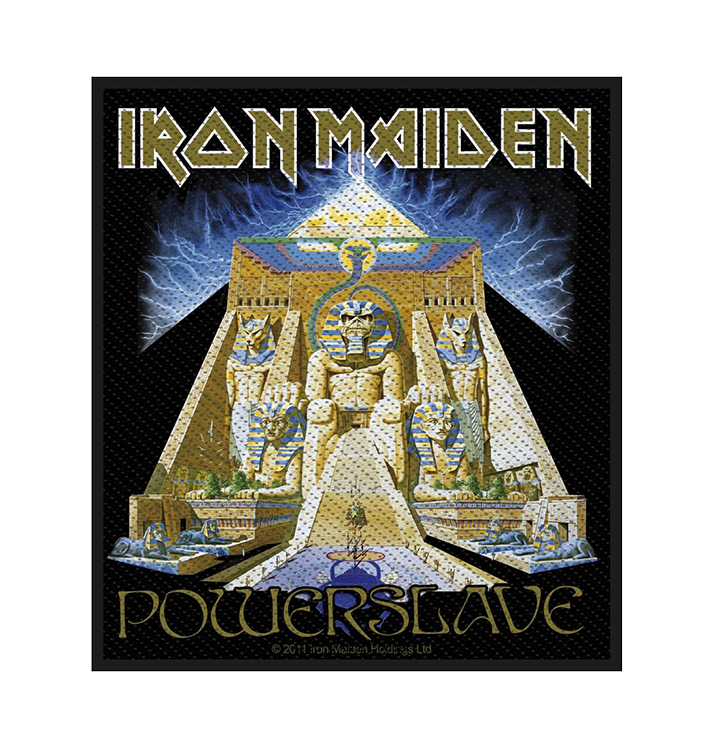 IRON MAIDEN - 'Powerslave' Patch