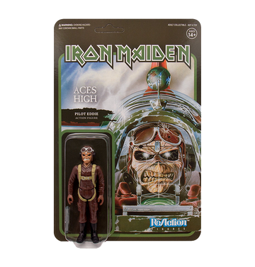 IRON MAIDEN - 'Aces High' ReAction Figure