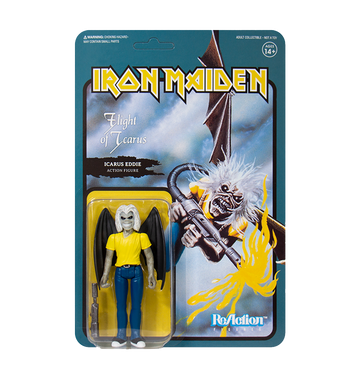 IRON MAIDEN - 'Flight Of Icarus' ReAction Figure