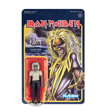 IRON MAIDEN - 'Killers Eddie' ReAction Figure
