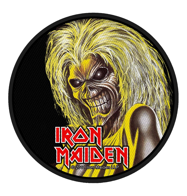 IRON MAIDEN - 'Killers Face' Patch