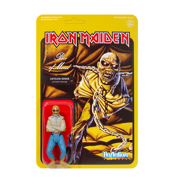 IRON MAIDEN - 'Piece Of Mind' ReAction Figure