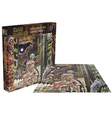 IRON MAIDEN - 'Somewhere In Time' Puzzle